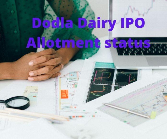 Dodla Dairy IPO Allotment status