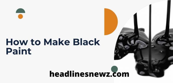 How to Make Black Paint