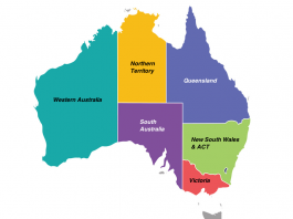 What are Australia's main cities and regions