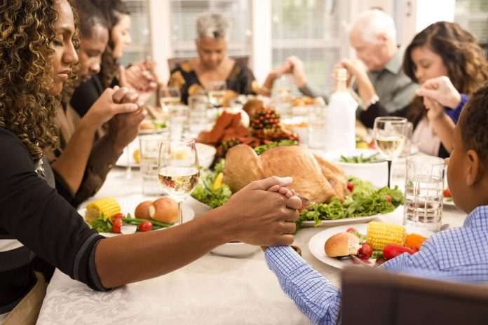 Feast on a Table Full Of Gratitude during Thanksgiving
